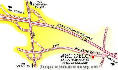 Plan de ABC Déco