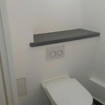 Installation de toilettes
